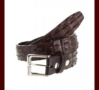 Hornback Crocodile Belt