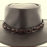 Crocodile Hat Band