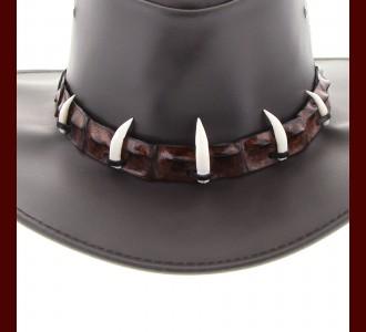 Crocodile Hat Band 5 Croc Teeth