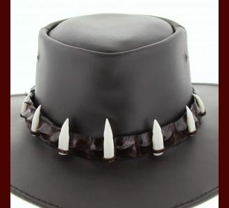 Crocodile Hat Band 7 Croc Teeth