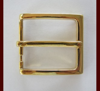 Square Brass Buckle 40mm