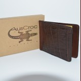 Crocodile Money Clip Wild Grade