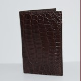 Crocodile Card Folder Premium Grade